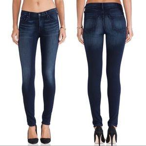 AGoldE, Colette, Dark Blue Jeans, Size 30